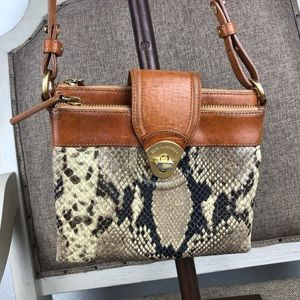 Brahmin Bags - Brahmin snake leather crossbody